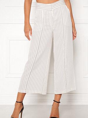 Stylein vita randiga byxor Bowery Pants