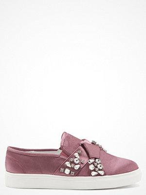 Sneakers & streetskor - Lost Ink Kara Jewel Bow Slip On