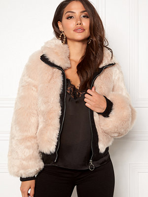 AMO Couture Amalfi Faux Fur Short Coat