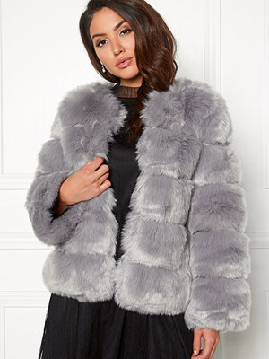 AMO Couture Dusk Faux Fur Short Coat