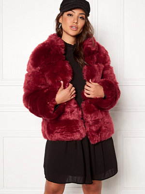 AMO Couture Phantom Faux Fur Short Coat