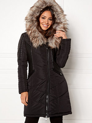 Only Linette Fur Hood Coat