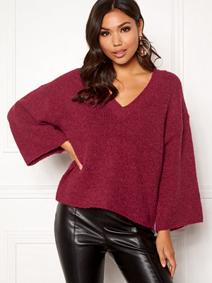 Selected Femme Peri 7/8 Knit V-neck