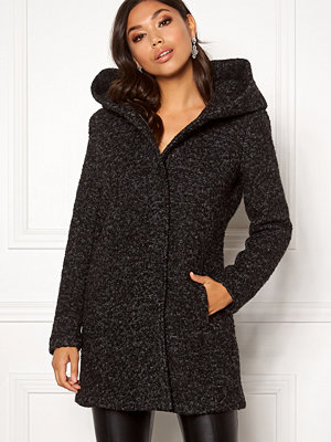 Only Sedona Boucle Wool Coat Black