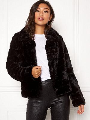 Vila Farry Faux Fur Jacket