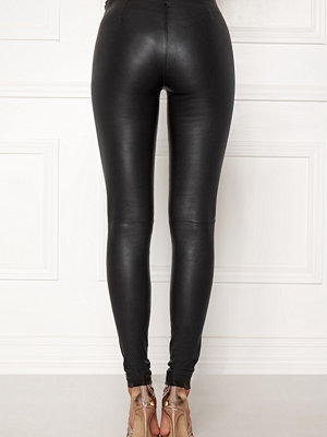 Selected Femme svarta byxor Sylvia Leather Legging