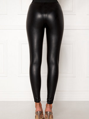 Leggings & tights - Only Flirt PU Leggings Ankel