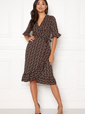 co'couture Pernille Flower Wrap Dress