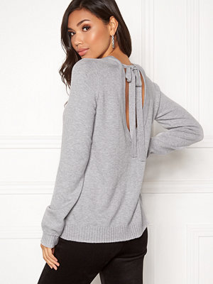 Vila Ril Open Back Knit Top
