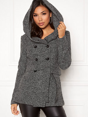 Only Lisa Hooded Wool Coat
