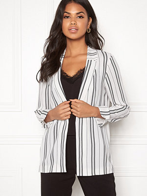 New Look Soft Crepe Stripe Blazer
