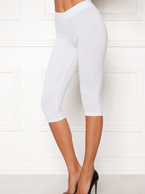 Happy Holly Sofia capri leggings White