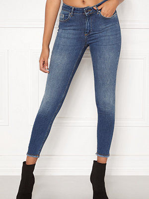 Jeans - Only Blush Mid Ank Raw Jeans