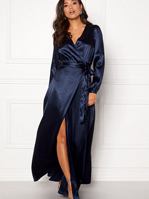 Make Way Ophelia wrapped maxi dress