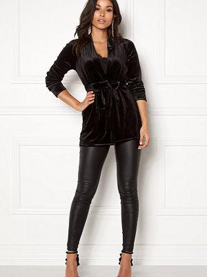 Kavajer & kostymer - Happy Holly Kiara velour blazer