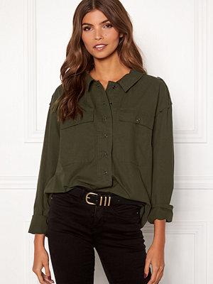 Skjortor - Object Vanlommel L/S Shirt A LMT