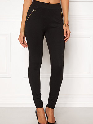 Leggings & tights - New Look Ponte Zip Leggings