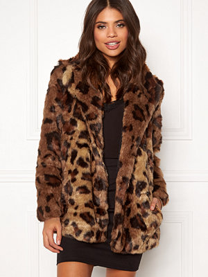 Only Juliane Faux Fur Leo Coat