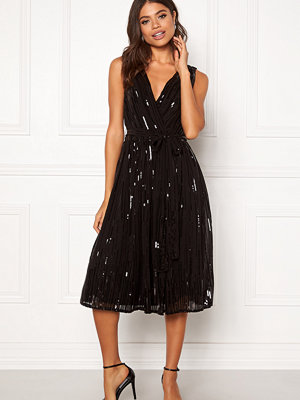 Goddiva Sequin Skater Dress