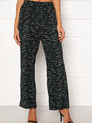 Object mönstrade byxor Tiger MW Loose Pant