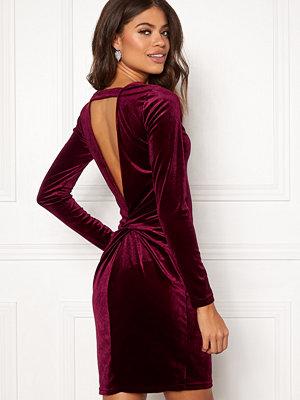 Vila Fulla L/S Open Back Dress