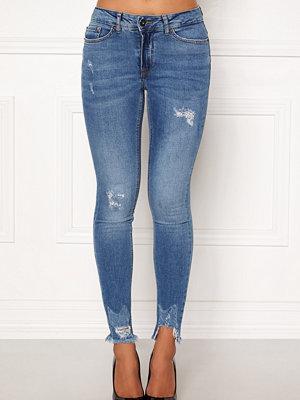 Ichi Lulu Genio Mid Blue Jeans