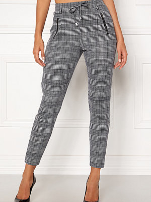 Happy Holly rutiga byxor Cleo Trousers Checked