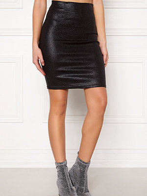 Pieces Paro HW Glitter Skirt