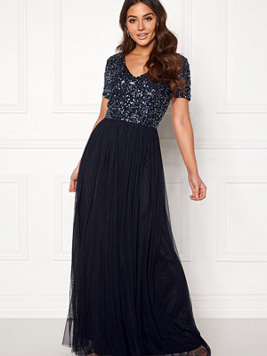 Angeleye Short Sleeve Sequin Dress