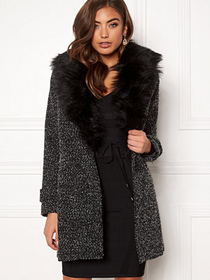 New Look Shawl Fake Fur Jacket