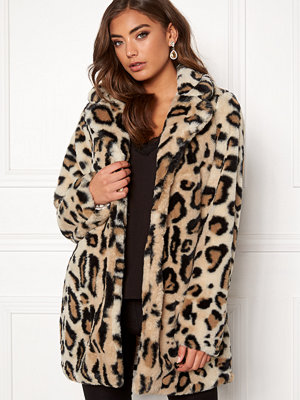 Rut & Circle Nova Faux Fur Leo Jacket