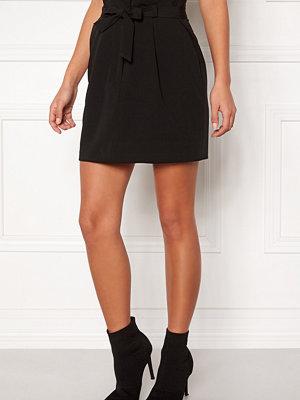 New Look Tie Waist Mini Skirt