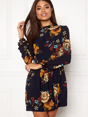 Ax Paris Frill Detail Floral Dress