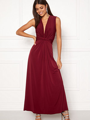 John Zack Sleeveless Knot Dress