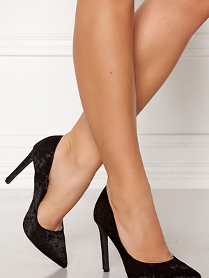 Francesco Milano Velvet Pumps