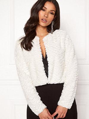 Vila Fury L/S Faux Fur Jacket