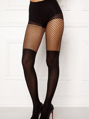 Strumpbyxor - Vero Moda Overknee Fishnet Tights