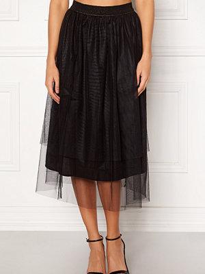 co'couture Glitter Mesh Skirt