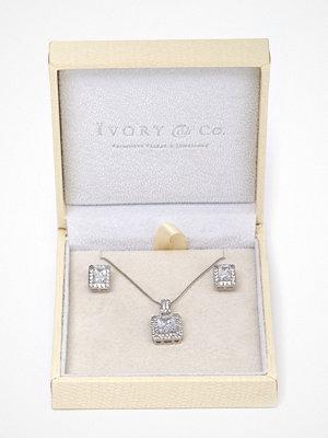 Ivory & Co halsband Art Deco Pendant Set