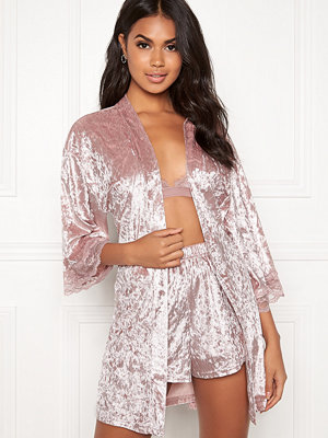 Bubbleroom Wilda velvet robe