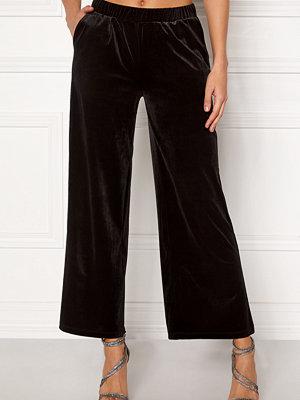 Ichi svarta byxor Velvet Pants