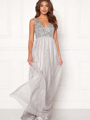 Bubbleroom Ivory embellished prom dress