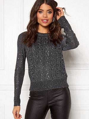 Jacqueline de Yong Ellie L/S Lurex O-Neck Pullover