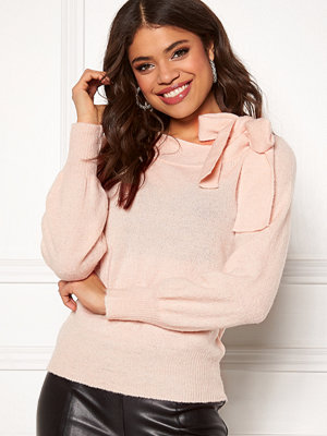 Tröjor - Vila Meda Knit Bow L/S Top