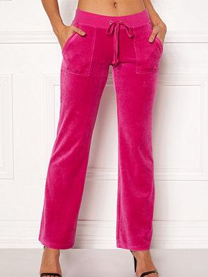 Juicy Couture rosa byxor Velour Del Rey Pant