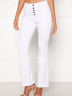 Happy Holly Josie bootcut jeans White