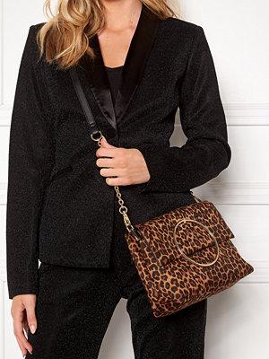 New Look Leopard Matilda Metal Bag
