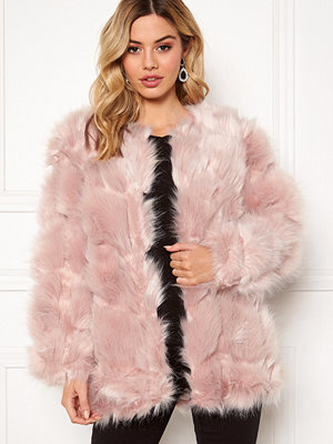 Urban Mist Diamond Panelled Fur