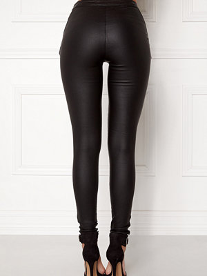 Object Belle Coated Leggings Black
