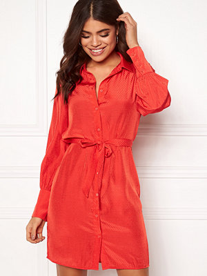 Object Dotteo L/S Shirt Dress